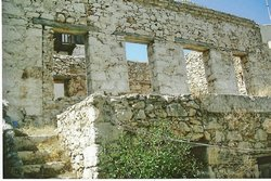 Ruined House for Sale - Halki or Chalki Dodecanese